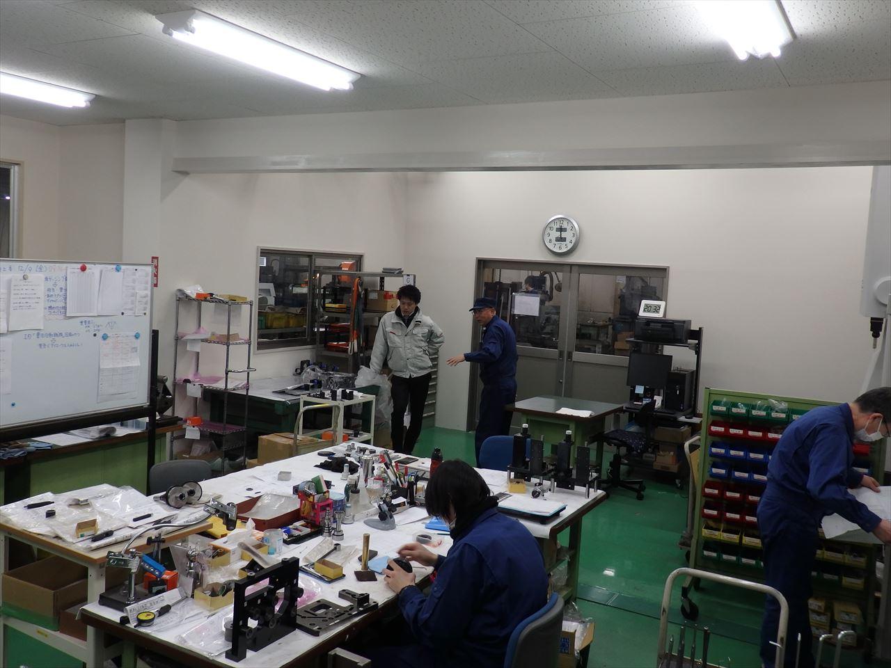 広い恒温検査室