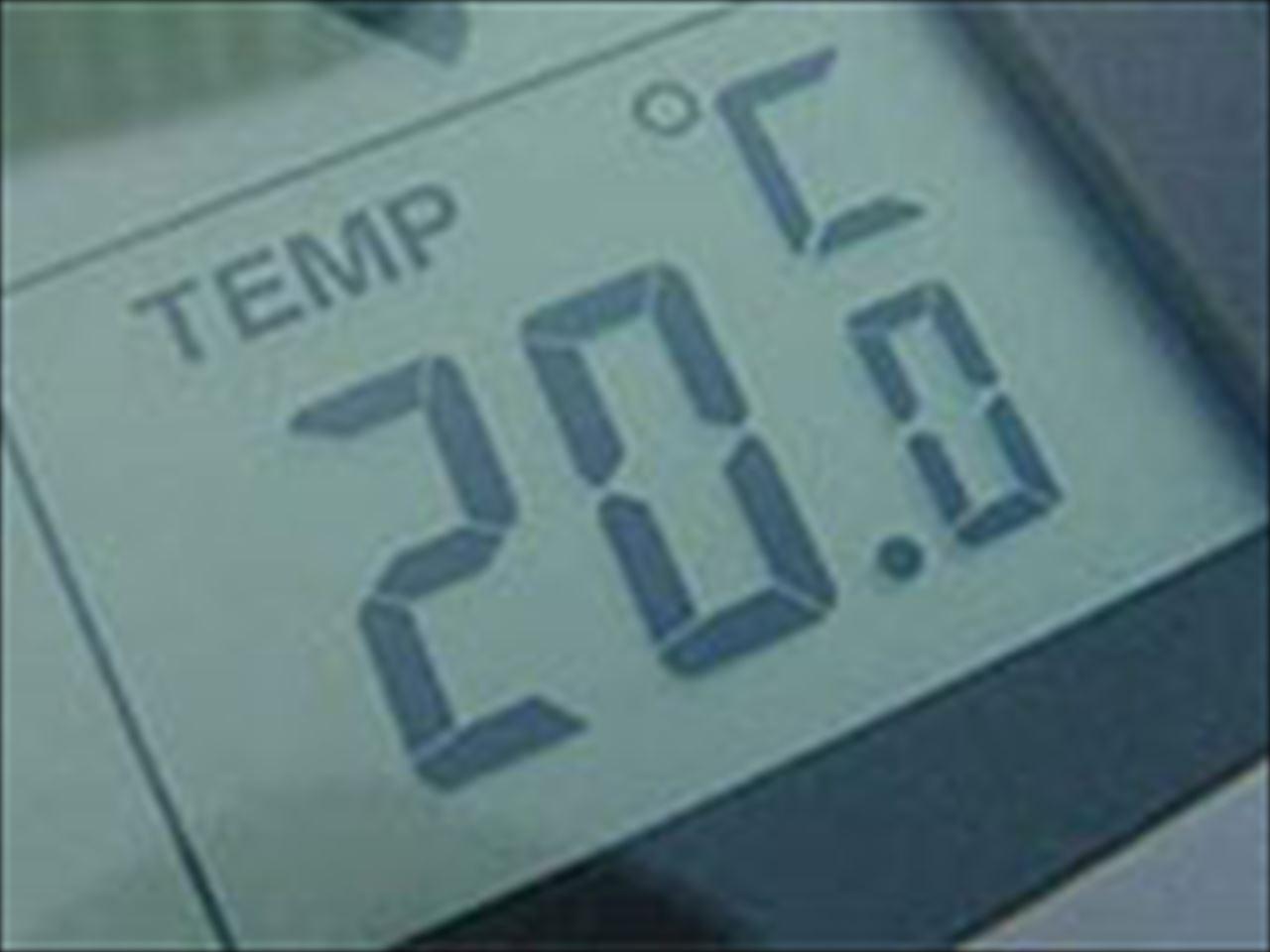 20℃±1℃の安定した温度管理