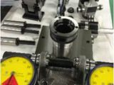 SS400シャフト 位置度測定用ゲージ