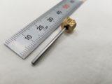 アルミ部品の内径テーパー形状 測定用ピンゲージ