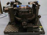 ブレーキシリンダーの振れ測定ゲージ