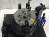 アルミピストンの穴位置度測定ゲージ